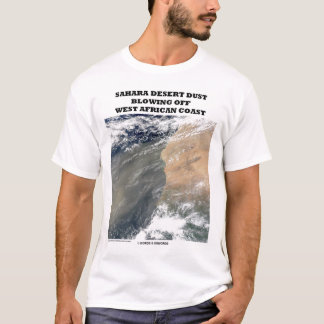 T-shirt Désert du Sahara enlevant à l'air comprimé la côte