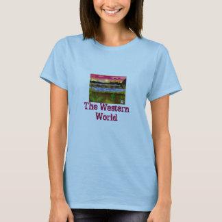 T-shirt Désert peint
