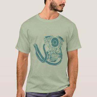T-shirt Dessin de moteur de moto