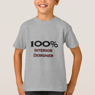 T-shirt Dessinateur d'intérieurs de 100 pour cent