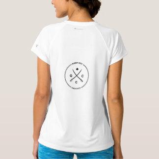 T-shirt Dessus actif de l'usage des femmes par