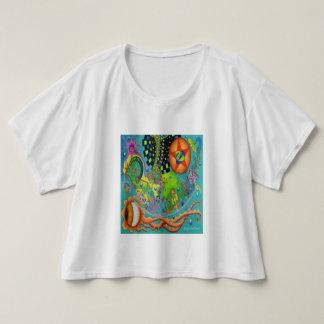 """T-shirt Dessus Boxy de culture """"d'océan reptile"""" de"""