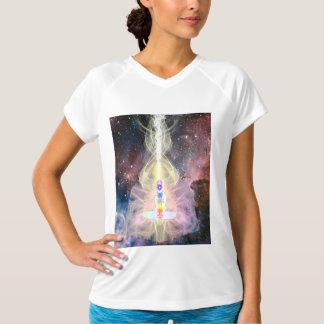 T-shirt Dessus de Chakra de méditation d'OHM