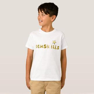 T-shirt Dessus de demskills d'or