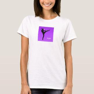 T-shirt dessus de ficelle de spaghetti d'iFight