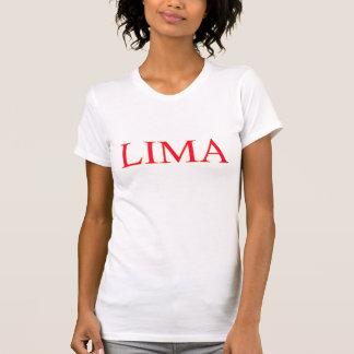 T-shirt Dessus de Lima