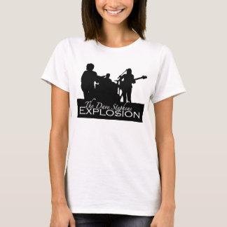 T-shirt Dessus de Sillouette-Réservoir