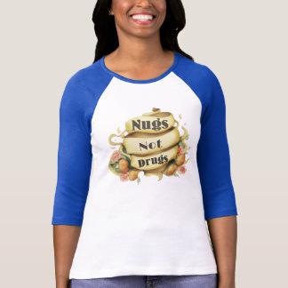 T-shirt Dessus de style de tatouage de drogues de Nugs pas