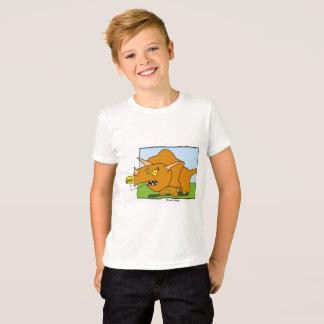 T-shirt Dessus de Triceratops