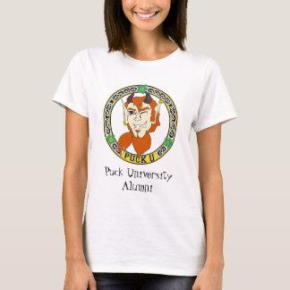 T-shirt Dessus d'université de galet