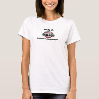 T-shirt Dessus naturellement intense de ficelle pour des
