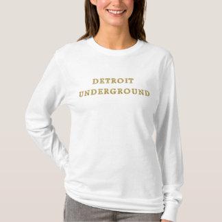 T-shirt Dessus souterrain de Detroit