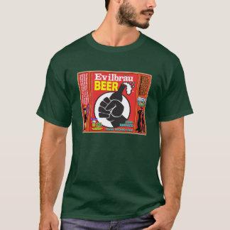 T-shirt Détail de poing de bière d'Evilbrau