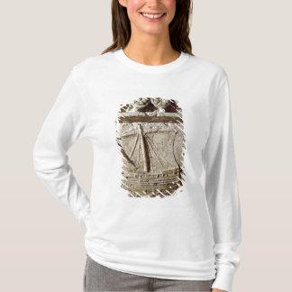 T-shirt Détail du sarcophage de bateau, de Sidon