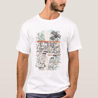 T-shirt Détail d'un codex maya