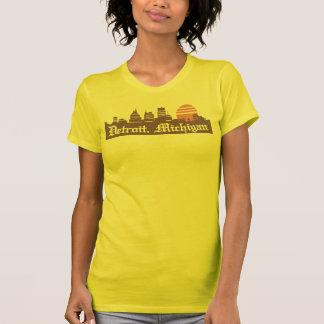 T-shirt Detroit Linesky