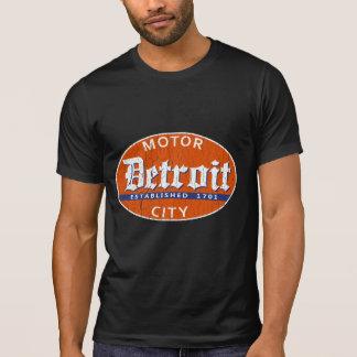 T-shirt Detroit vintage (conception affligée)