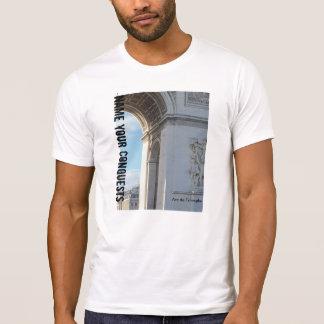 """T-shirt détruit de """"Arc de Triomphe"""", blanc"""