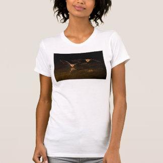 T-shirt Deux battes volant au-dessus de l'eau, Arizona