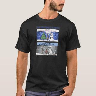 T-shirt Deux étapes d'hiver