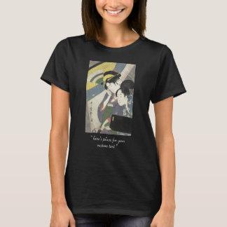 T-shirt Deux femmes sous un art de Kitagawa Utamaro de