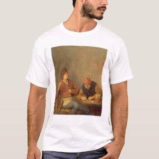 T-shirt Deux fumeurs dans un intérieur, 1643