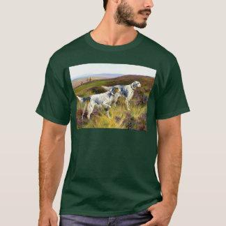 T-shirt Deux poseurs anglais dans un domaine - Arthur