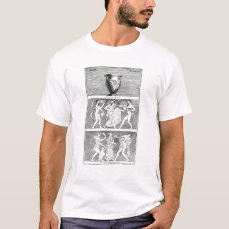 T-shirt Deux scènes d'un vase à Etruscan