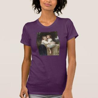 T-shirt Deux soeurs - William-Adolphe Bouguereau