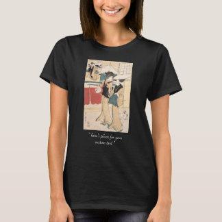 T-shirt Deux Tores-oi, ou musiciennes ambulantes Japon de