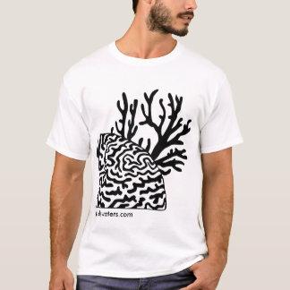 T-shirt Deux types de corail