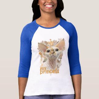 T-shirt Devon Rex ma princesse