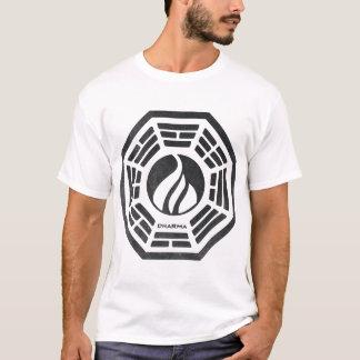 T-shirt Dharma - flamme