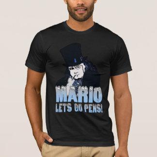 T-shirt d'hockey de pingouin de Mario