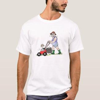T-shirt d'homme de tondeuse à gazon