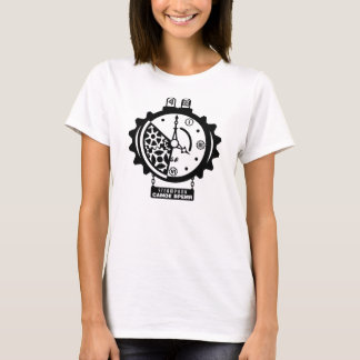 T-shirt d'horloge de Steampunk