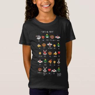 T-Shirt Diagramme LOONEY de TUNES™ Emoji
