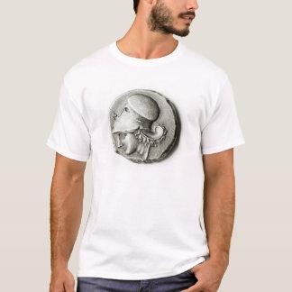 T-shirt Didrachma de Heracles : Athéna de representation