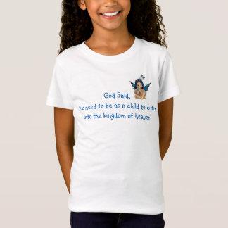 T-Shirt Dieu a dit ; Chemise féerique indigène de Med de