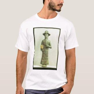 T-shirt Dieu d'Elamite avec la main d'or de Susa,