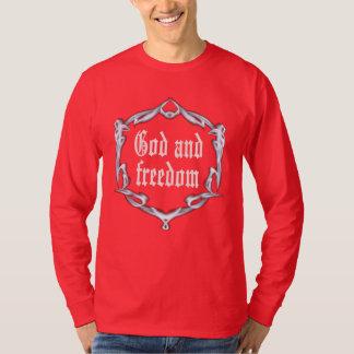 T-shirt Dieu et liberté