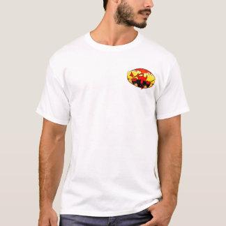 T-shirt d'image de Kilroy de diable double