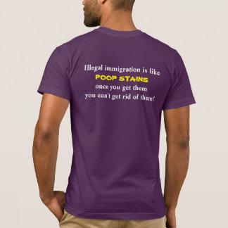 T-shirt d'immigration illégale : Antsafire