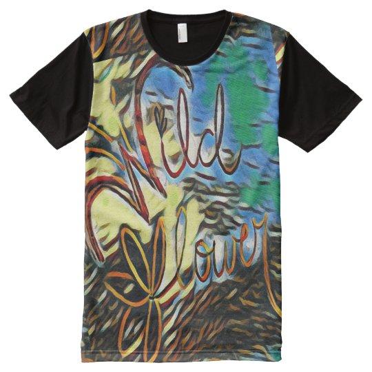 T-shirt d'impression d'art de typographie de
