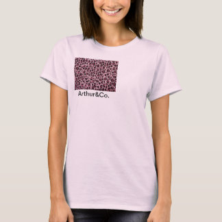 T-shirt d'impression de guépard