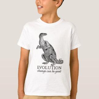 T-shirt Dinosaure d'évolution