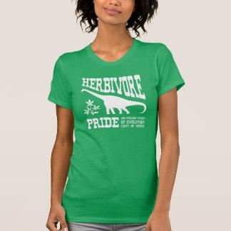 T-shirt Dinosaure végétarien drôle de fierté herbivore