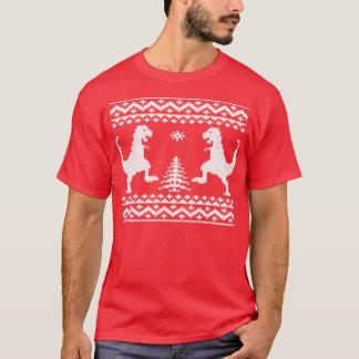T-shirt Dinosaures laids de Noël