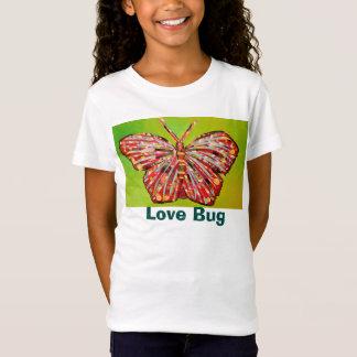 T-shirt d'insecte d'amour