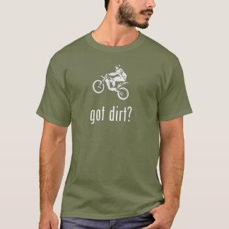 T-shirt Dirtbike obtenu de vélo de saleté tous terrains